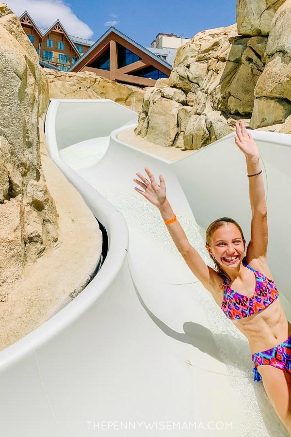 Slide at Gaylord Rockies