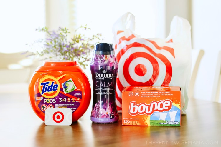 Tide Bounce Downy Deals at Target this Week!