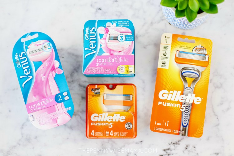 Gillette Fusion 5 and Venus Razor Coupons