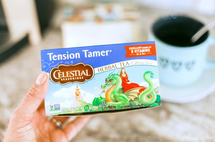 Celestial Seasonings Tension Tamer Tea