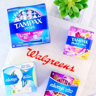 Save Big on Tampax & Always with 2/$5 Deal at Walgreens