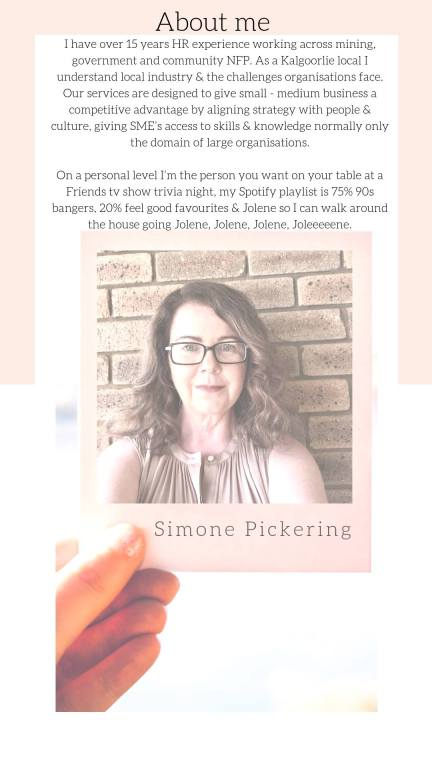 Simone Pickering | The People & Culture Office