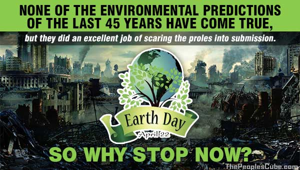 Image result for Earth Day predictions GWPF