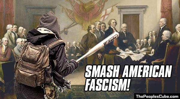 Image result for cartoon of antifa
