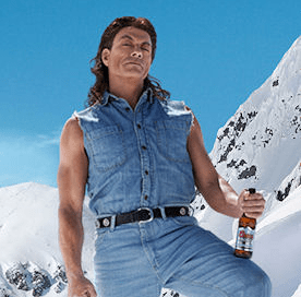 "Jean Claude Van Damme ""Frozen And Very Tight"" For Coors Light"