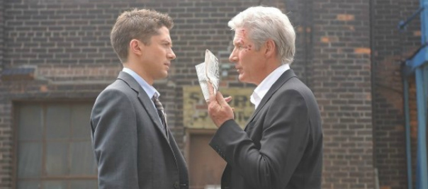 Spoiler Friendly The Double Trailer Starring Topher Grace and Richard Gere (Yes I said Richard Gere!!!)