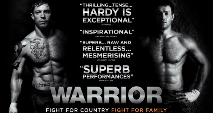 New Clip From Warrior Starring Tom Hardy & Joel Edgerton