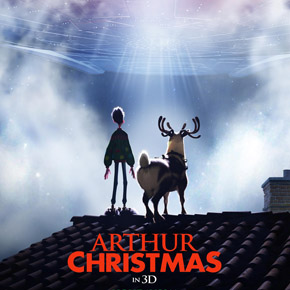 New trailer for Aardman Animation's Arthur Christmas