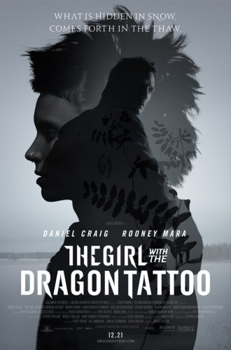 Another New Swanky  New Girl With A Dragon Tattoo Poster