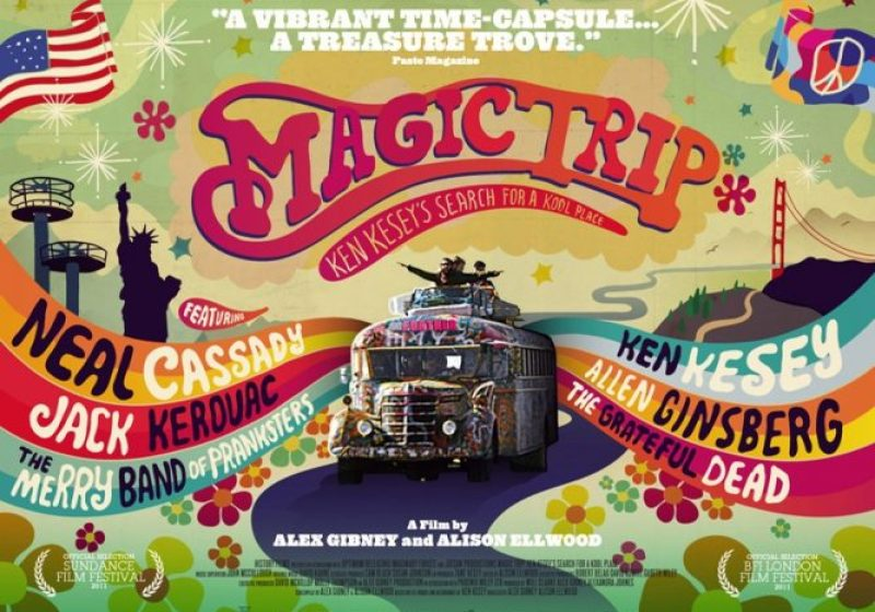 Chill Out Man And Dig The UK Trailer For Alex Gibney's Magic Trip