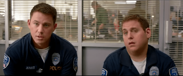 You Justin Beiber, Myley Cyrus look a likes it's a new International 21 JUMP STREET TRAILER