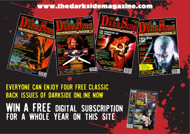 Competition: Win a year's digital subscription to The Dark Side