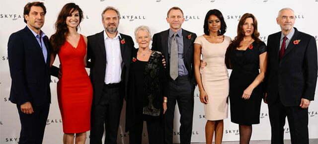 James Bond 23 is 'SKYFALL' official plot & cast details announced, logo revealed!
