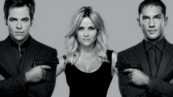 UK Trailer For THIS MEAN'S WAR Starring Tom Hardy, Reese Witherspoon, Chris Pine