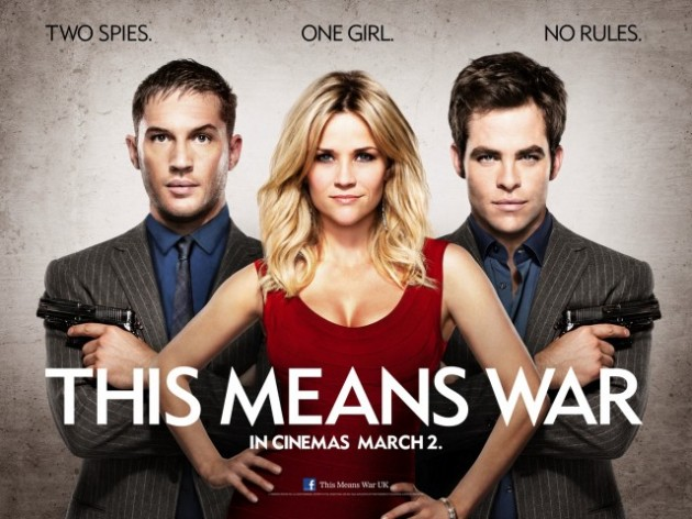 New Clips & Stills For This Means War Starring Chris Pine, Reece Witherspoon, Tom Hardy