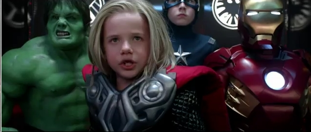 """Who Dare Crosses The Avengers?"" Watch The Little Avengers"