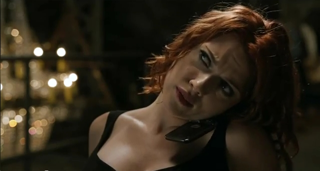 First Clip From AVENGERS ASSEMBLE Shows Why Black Widow Is Called..eh, Black Widow!