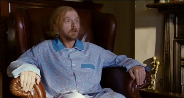 Watch The Surreal First Trailer Simon Pegg's A FANTASTIC FEAR OF EVERYTHING