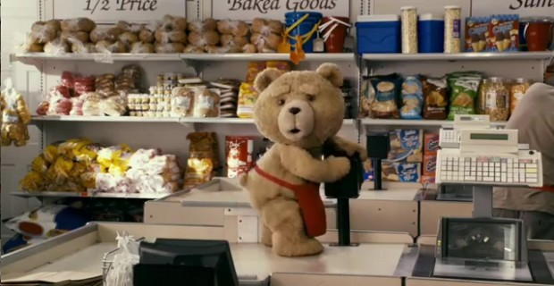 TED Knows She Wants 'Dirty Fozzy' In TED Green Band Trailer