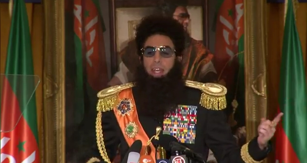 Our most glorious Leader Admiral General Aladeen  Host's New York Press Conference For THE DICTATOR