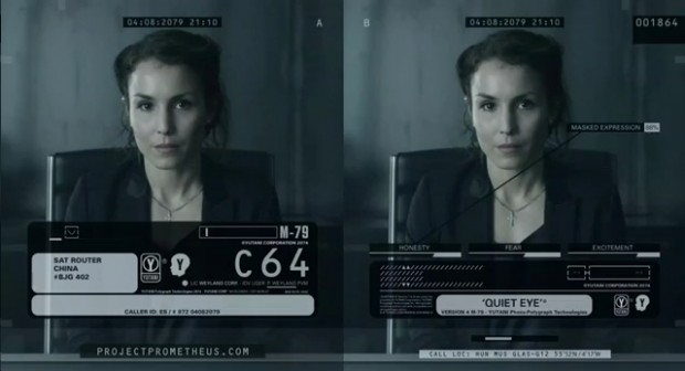 Dr Shaw Has A 'Quiet Eye' For Peter Weyland In New Prometheus Viral