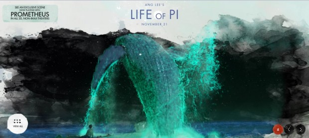 New Images, First Footage From LIFE OF PI