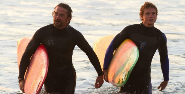 Gerard Butler Inspires In Trailer For Chasing Mavericks