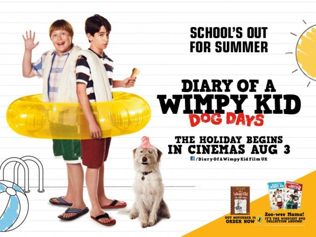 Win The Diary Of A Wimpy Kid: Dog Days London Preview Tickets