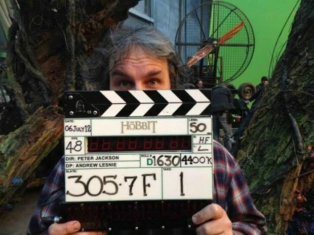 """""""It's A Wrap!"""" Peter Jackson Wraps Production On THE HOBBIT!"""