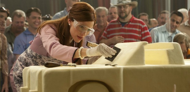 Jennifer Garner Spreads some artistry In Butter Trailer