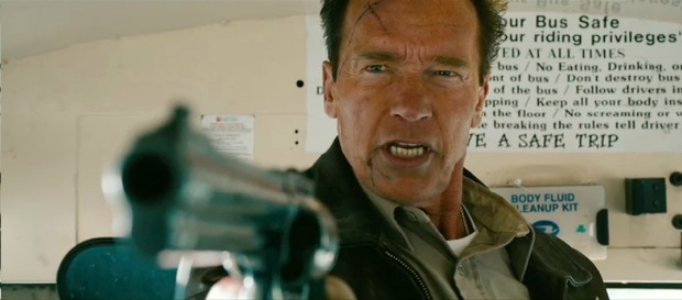 Arnie Knows Whats Coming..The First Trailer For The Last Stand