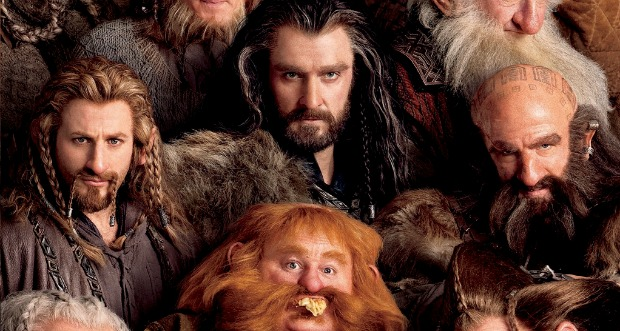 Meet The Dwarves In New The Hobbit:An Unexpected Journey Poster