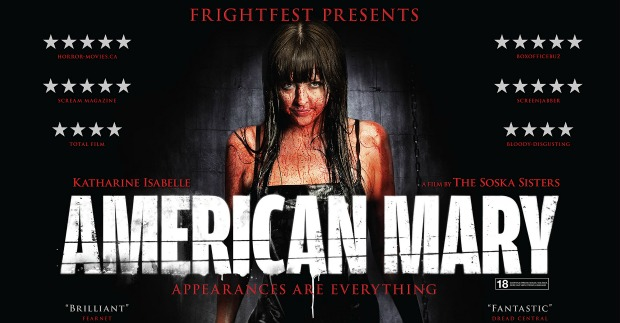 Win American Mary On Blu-Ray