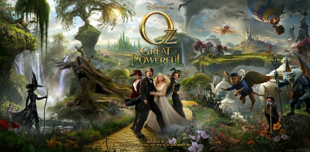 'I Am The Wizard Of OZ!' Watch Final OZ,The Great And Powerful Trailer