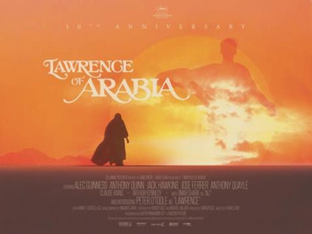 Win Tickets For Special Anniversary Screening Of Lawrence of Arabia
