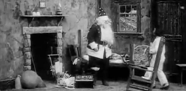 Ho Ho Ho Merry Christmas Watch 100 Year Old Santa Claus Films