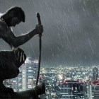 New Rain Swept The Wolverine Motion Poster