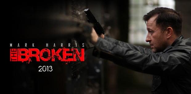 Shooting Wraps On Mark Harris The Broken