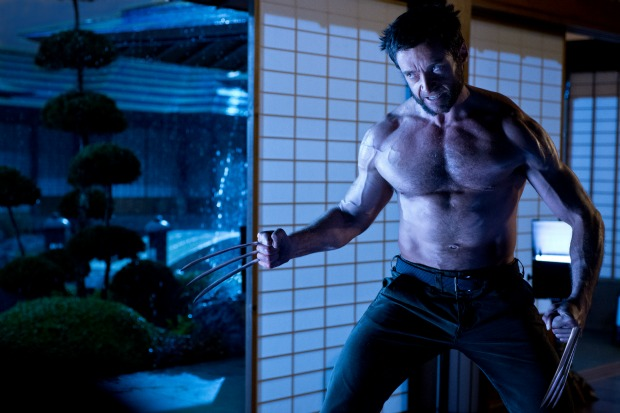 Hugh Jackman Semi Naked In New The Wolverine Image