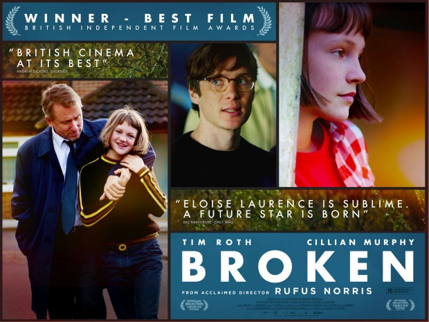 GFF 2013 – New UK Poster For Broken Starring Tim Roth