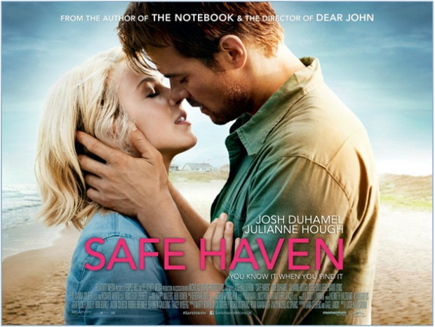 Best Film Rain Scenes (Safe Haven Feature)