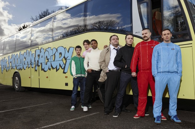 Nick Nevern's Football Spoof The Hooligan Factory Wraps