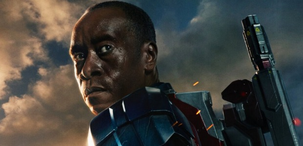 New Iron Man 3 Poster Don Cheadle Shows Off Stars And Stripes