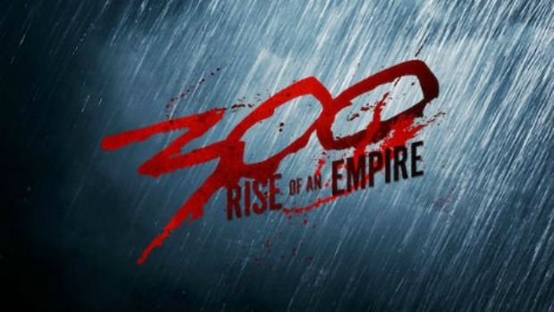 Flex Your Muscles At First Images, Logo From 300:Rise Of An Empire