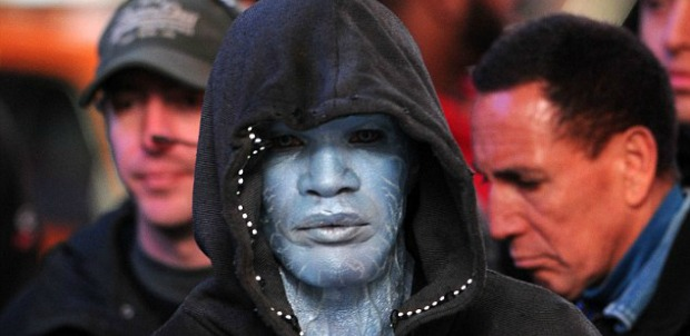 Jamie Foxx A Little Blue In First Look At Electro in The Amazing Spiderman 2