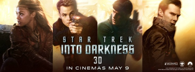 New Star Trek Into Darkness UK TV Spot,Banners, Motion Poster