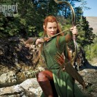 Bow To Evangeline Lilly In The Desolation Of Smaug New Image