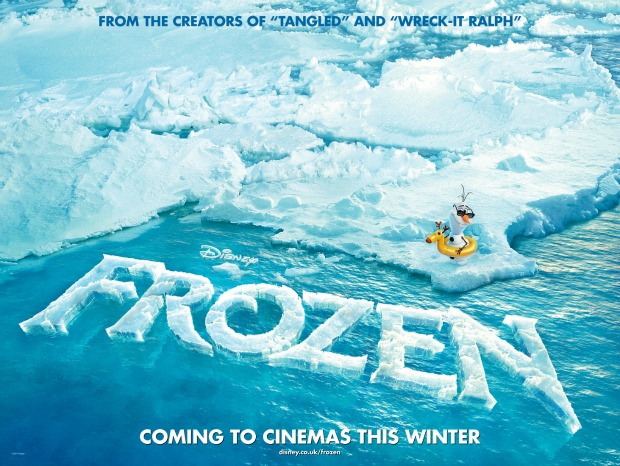 Disney Reveal A Chilly New UK Poster For Frozen