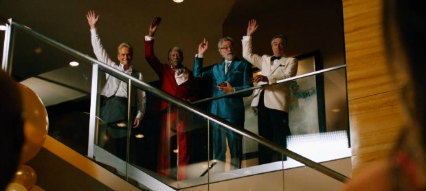 Let's Get The Party Started!After My Pills! Watch Last Vegas UK Trailer 2