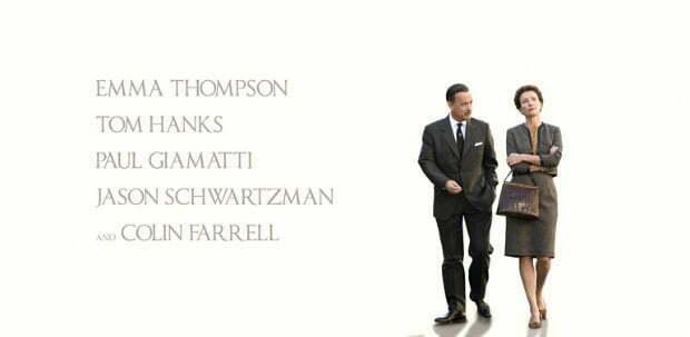First UK Poster For Walt Disney's Saving Mr Banks